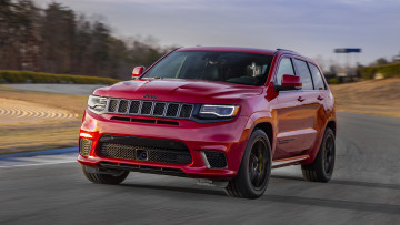 Картинка jeep+grand+cherokee+supercharged+trackhawk+2018 автомобили jeep trackhawk 2018 supercharged grand cherokee