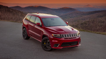 Картинка jeep+grand+cherokee+supercharged+trackhawk+2018 автомобили jeep 2018 trackhawk supercharged grand cherokee