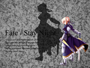 Картинка fate21 аниме fate stay night