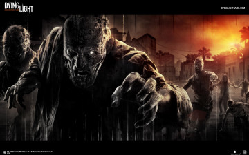 обоя dying light, видео игры, - dying light, horror, survival, action, light, игра, dying
