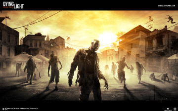 обоя dying light, видео игры, - dying light, light, horror, survival, action, игра, dying