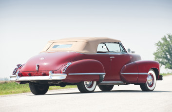 обоя cadillac sixty two convertible 1942, автомобили, cadillac, 1942, convertible, two, sixty