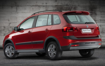 обоя volkswagen space cross 2011, автомобили, volkswagen, 2011, space, cross