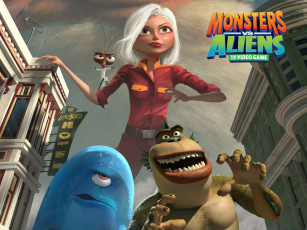 обоя видео, игры, monsters, vs, aliens