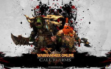 обоя warhammer, online, age, of, reckoning, call, to, arms, видео, игры
