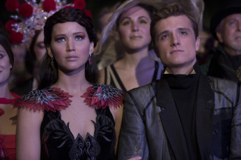 обоя кино фильмы, the hunger games,  catching fire, katniss, everdeen, josh, hutcherson, peeta, mellark1, jennifer, lawrence