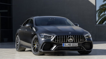 Картинка mercedes-benz+amg+gt+63-s+4matic+4door+coupe+2019 автомобили mercedes-benz серый металлик amg gt 63-s 4matic 4door coupe 2019