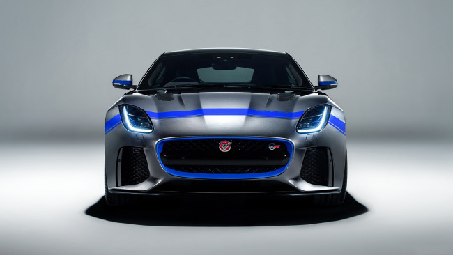 Обои картинки фото jaguar f-type svr graphic pack 2019, автомобили, jaguar, f-type, 2019, pack, graphic, svr