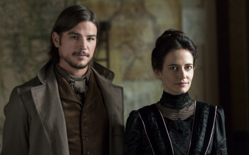 Картинка кино+фильмы penny+dreadful josh hartnett eva green