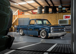 Картинка автомобили custom+pick-up chevy