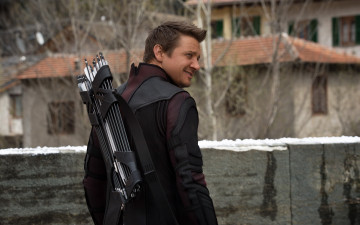 обоя кино фильмы, avengers,  age of ultron, jeremy, renner, hawkeye, clint, barton, age, of, ultron, marvel