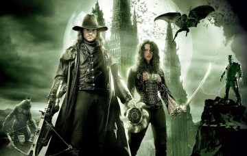 обоя van, helsing, кино, фильмы, hugh, jackman, kate, beckinsale