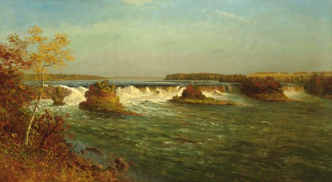обои рисованное живопись Albert Bierstadt картина