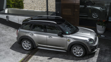 Картинка mini+cooper+s-e+countryman+all4+plug+in+hybrid+2018 автомобили mini cooper plug all4 countryman s-e hybrid 2018