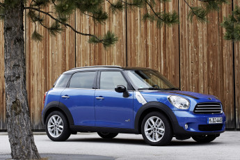 Картинка 2013 mini countryman cooper all4 автомобили
