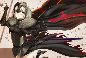 Картинка аниме fate stay+night joan alter