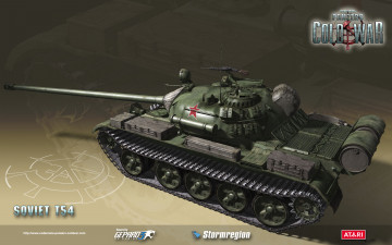 обоя codename, panzers, cold, war, видео, игры, soviet, t54, танк