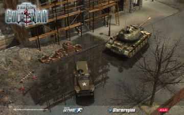 обоя codename, panzers, cold, war, видео, игры, танк