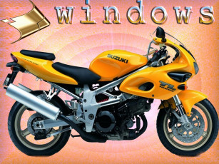обоя suzuki, компьютеры, windows, 98, 95