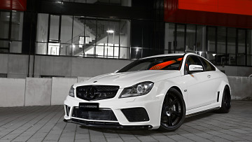 Картинка автомобили mercedes-benz edition series black amg c 63 wheelsandmore