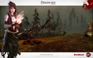 обоя dragon, age, origins, видео, игры