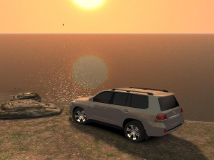 Картинка toyota land cruiser 200 видео игры grand theft auto iv