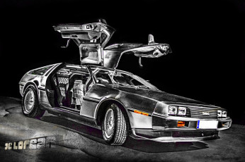 обоя автомобили, dmc, delorean, dmc-12