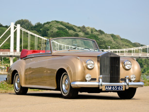 обоя rolls-royce silver cloud drophead coupe by mulliner 1959, автомобили, rolls-royce, silver, cloud, drophead, coupe, mulliner, 1959