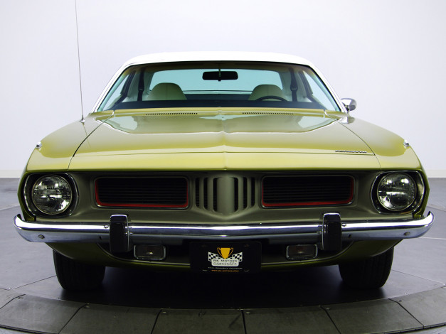 Обои картинки фото plymouth barracuda 1974, автомобили, plymouth, barracuda, 1974