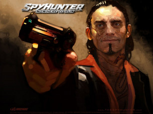 обоя spyhunter, nowhere, to, run, видео, игры