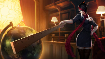 Картинка видео+игры league+of+legends teacher учитель league of legends фиора fiora лол лига легенд