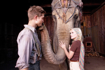 обоя water, for, elephants, кино, фильмы, reese, witherspoon, robert, pattinson