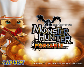 обоя видео, игры, monster, hunter, portable