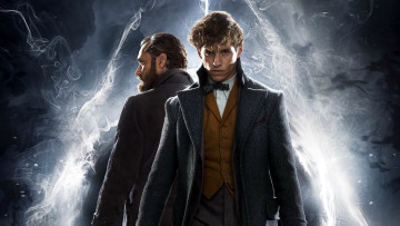 обоя кино фильмы, fantastic beasts,  the crimes of grindelwald, dumbledore, jude, law, eddie, redmayne