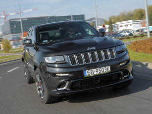 Картинка автомобили jeep темный eu-spec srt cherokee grand