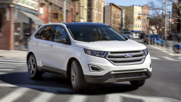 обоя ford edge sel sport appearance package 2018, автомобили, ford, edge, sport, 2018, sel, package, appearance