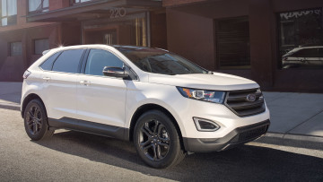 обоя ford edge sel sport appearance package 2018, автомобили, ford, 2018, sel, edge, package, appearance, sport