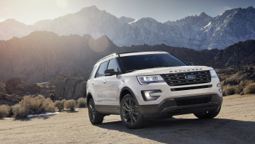 обоя ford explorer xlt sport appearance package 2017, автомобили, ford, explorer, xlt, sport, appearance, package, 2017
