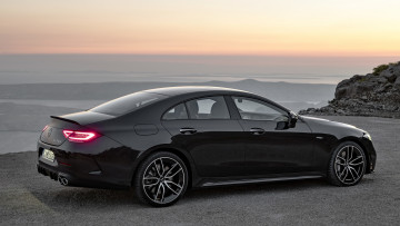 обоя mercedes-amg cls 53 4matic , 2019, автомобили, mercedes-benz, black, car, мерседес, 4matic, cls, 53, седан, вид, сзади, mercedes, amg