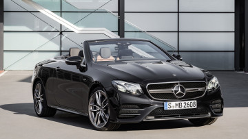 обоя mercedes-benz amg e-53 cabrio 4matic  2019, автомобили, mercedes-benz, 4matic, cabrio, e-53, amg, 2019