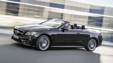 обоя mercedes-benz amg e-53 cabrio 4matic  2019, автомобили, mercedes-benz, 2019, 4matic, amg, cabrio, e-53