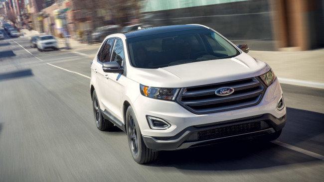 Обои картинки фото ford edge sel sport appearance package 2018, автомобили, ford, 2018, sport, appearance, package, sel, edge