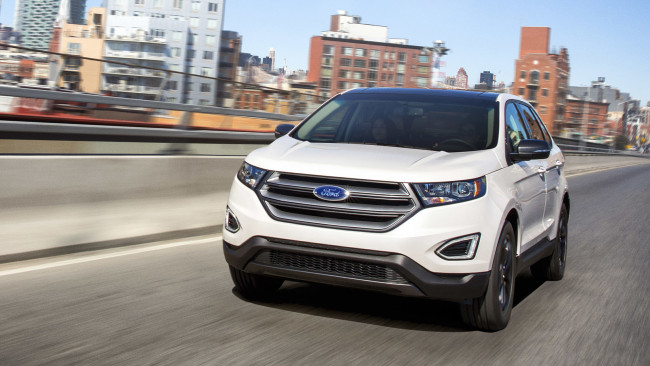Обои картинки фото ford edge sel sport appearance package 2018, автомобили, ford, appearance, edge, sport, sel, 2018, package