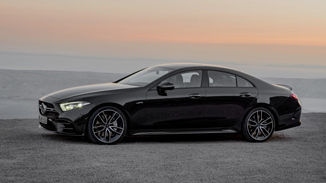 Обои картинки фото mercedes-benz amg cls-53 4matic  2019, автомобили, mercedes-benz, cls-53, 4matic, 2019, amg