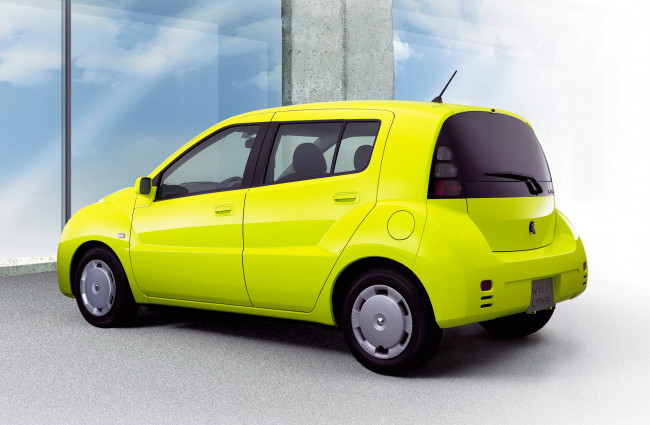 Обои картинки фото toyota will cypha 2002, автомобили, toyota, 2002, cypha, will