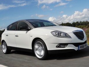 обоя chrysler delta 2011, автомобили, chrysler, delta, 2011, белый