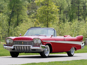 обоя plymouth belvedere convertible 1957, автомобили, plymouth, belvedere, convertible, 1957
