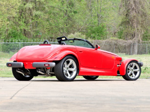 обоя plymouth prowler 1999, автомобили, plymouth, prowler, 1999, red