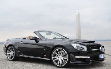 Картинка автомобили brabus sports car modified version 800 benz the sl65 amg