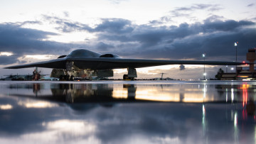 обоя northrop grumman b-2 spirit, авиация, боевые самолёты, bomber, military, aircraft, northrop, grumman, b-2, spirit, vehicle